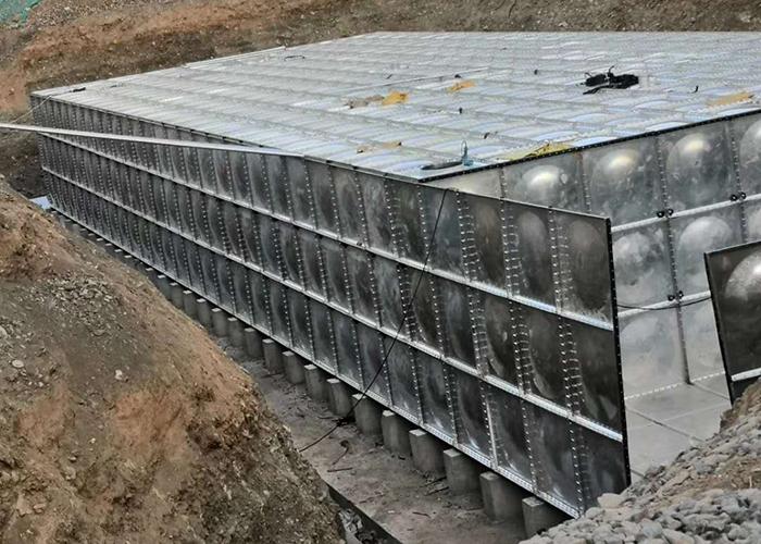 箱泵一体式镀锌水箱