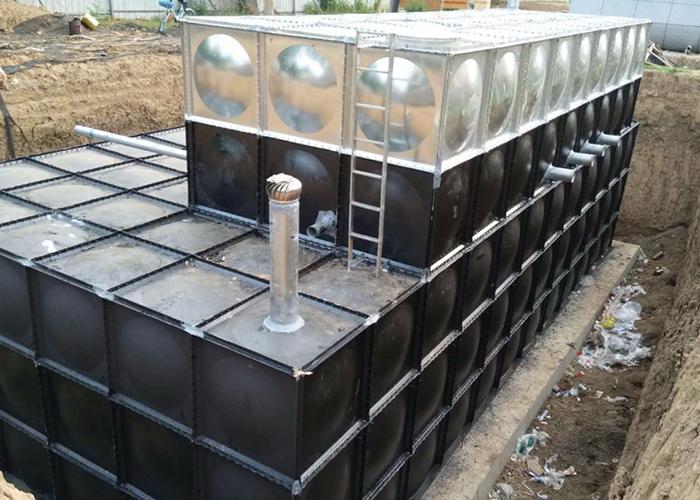 箱泵一体式地埋水箱